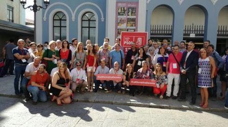 Los delegados por León en el Congreso regional celebrado en Zamora