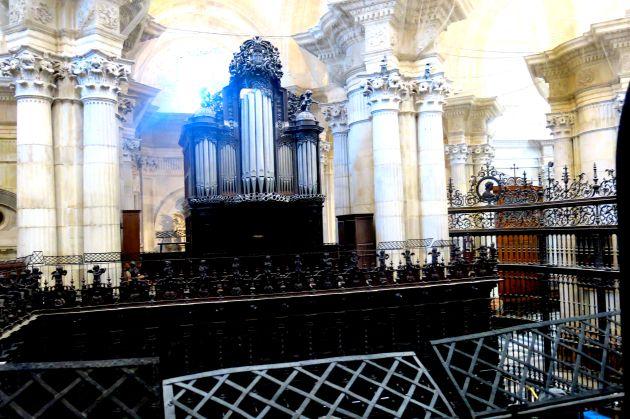 Segundo órgano de la Catedral de Cádiz