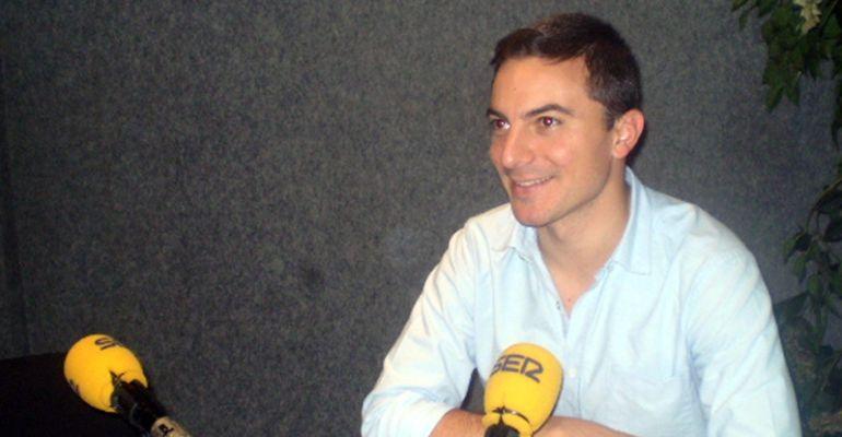 Juan Lobato, alcalde y secretario general PSOE de Soto del Real en los estudios de SER Madrid Norte