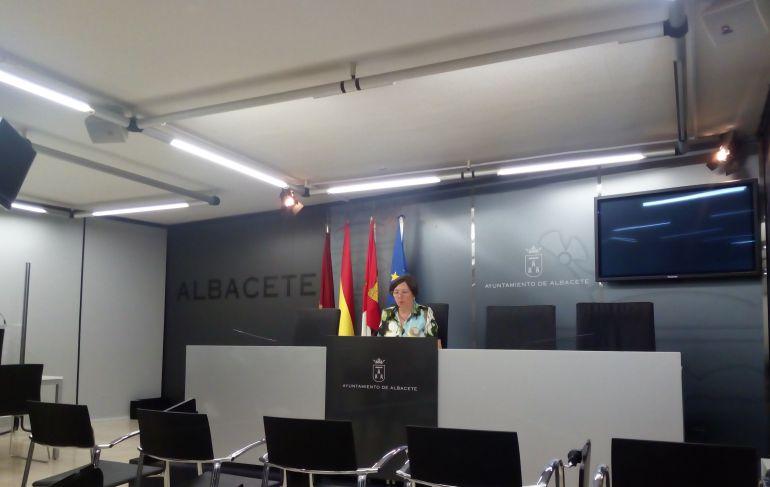 Victoria Delicado, portavoz del grupo Ganemos