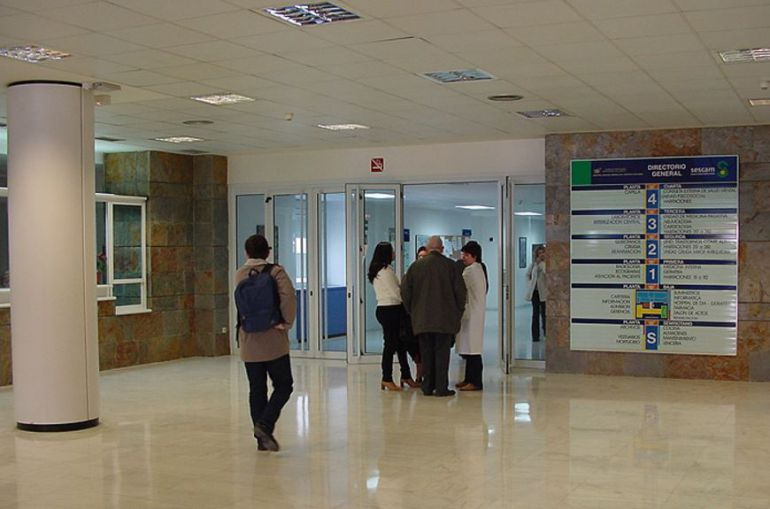 Hall del Hospital del Perpetuo Socorro