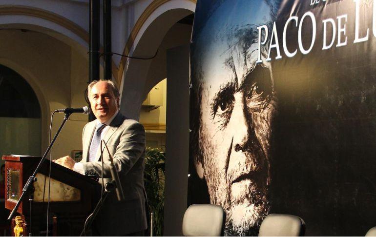 El alcalde, José Ignacio Landaluce, durante la edición del pasado año.