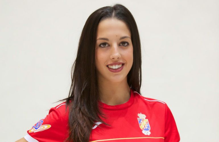 Alejandra Quereda, capitana de la Selección Española de Gimnasia Rítmica