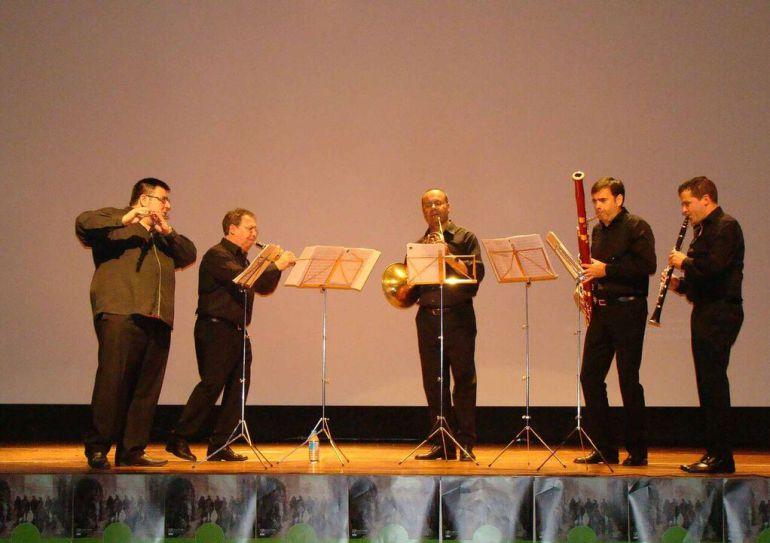 El Quinteto Ibertcámara pone el broche de oro al Festival de Música de La Mancha