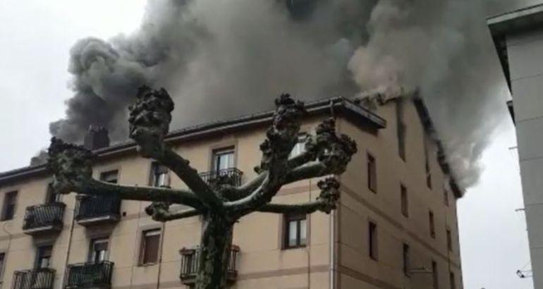 Sestao autoriza la reparación del edificio incendiado en marzo