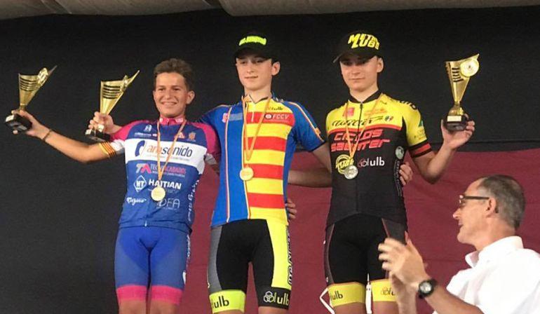 El ciclista Jordi Seguí, nuevo campeón autonómico infantil de BTT