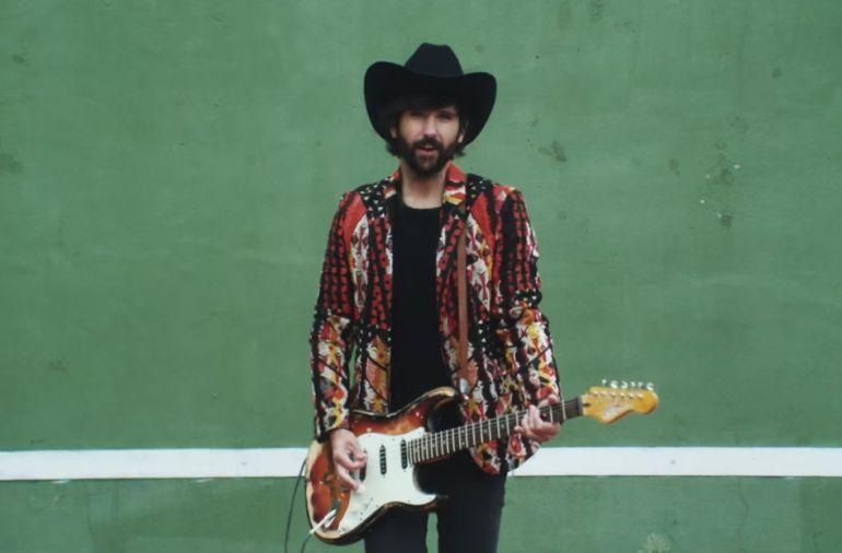 Imagen de un videoclip de David Otero