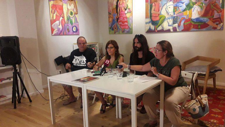 Dirigentes de Podemos en una imagen de archivo