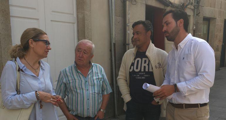El PP de Lugo advierte de la necesidad de una inversión en el Barrio de la Tinería