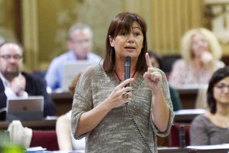 Armengol descarta la entrada de Podem en el Govern