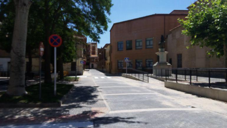 Estado de la calle Juan de Álamos una vez finalizadas las obras