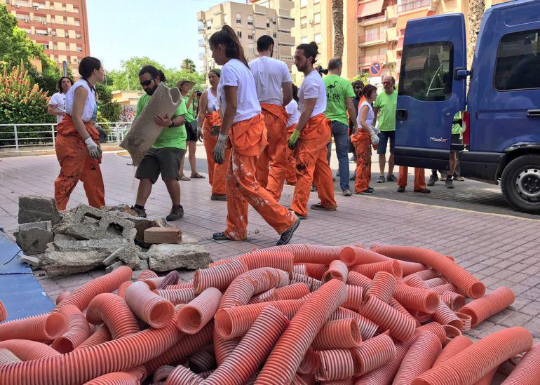 Pacto por el Mar Menor se une a Greenpeace y ANSE para pedir la restauración de Puerto Mayor