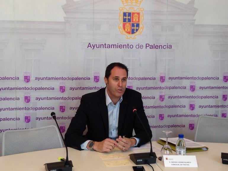 Sergio Lozano, Concejal de Fiestas