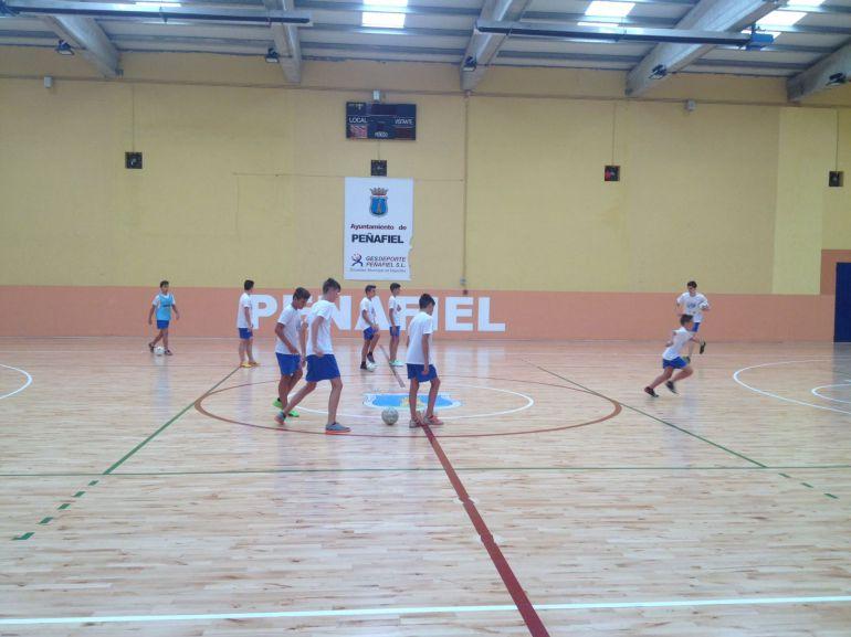 Participantes de la segunda semana del Campues de Fútbol Sala