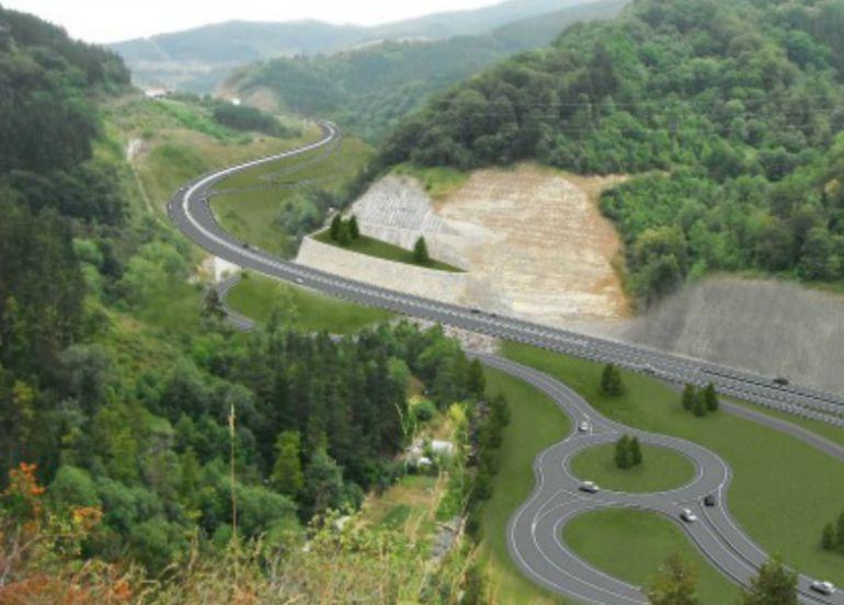 La Diputación construirá la carretera de Deskarga, completando la red de alta capacidad de Gipuzkoa