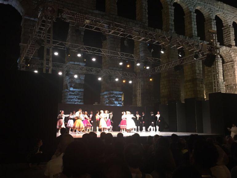 El Acueducto ha sido testigo de la Gala Inaugural del 35º Congreso ITI-UNESCO.