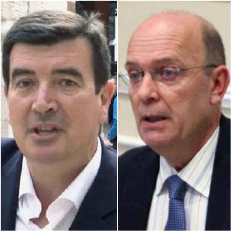 Fernando Giner (d) y Félix Crespo (i)