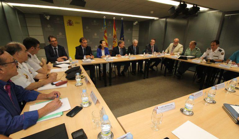 Reunión para tratar la seguridad en el ámbito rural