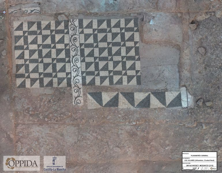 Única y rica, así es la Villa del siglo I descubierta en Alhambra, la antigua Laminium