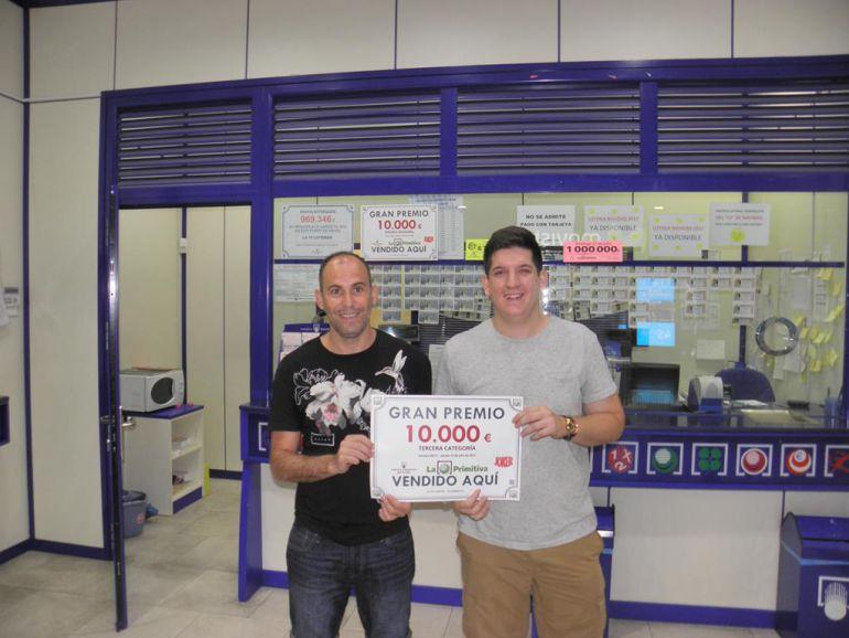 Gerentes de la Administración de Lotería nº 15 de Guadalajara