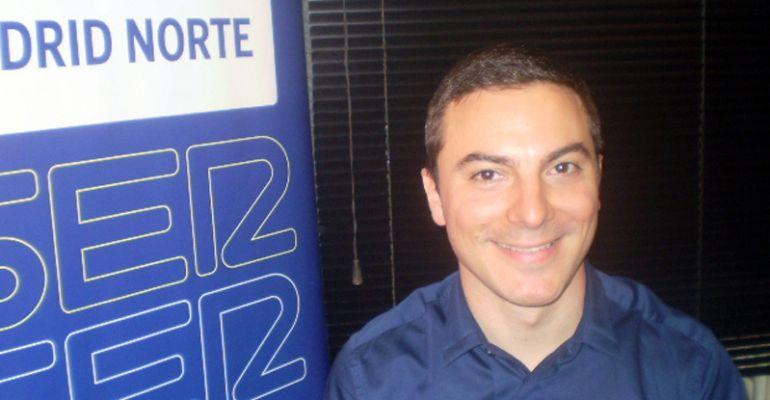 Juan Lobato, alcalde de Soto del Real en los estudios de SER Madrid Norte