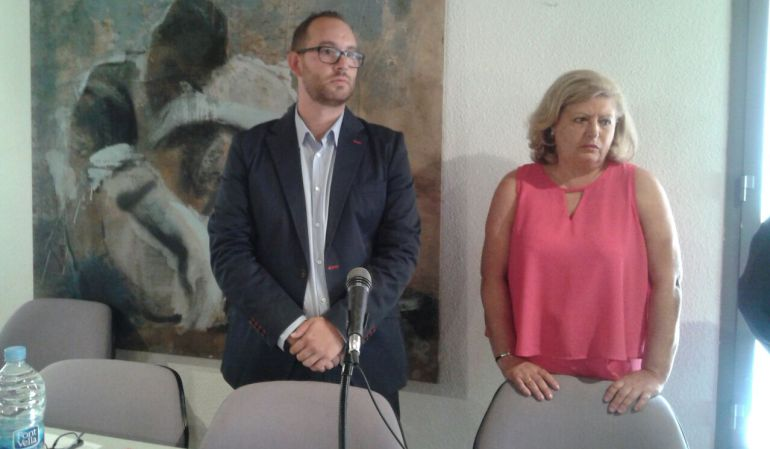 El nuevo alcalde de Valdemoro, durante el Pleno de la moción de censura