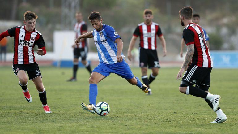 """Jony Rodriguez, jugador del Málaga CF: Jony: """"Quiero cambiar mi imagen; estoy en deuda con la afición"""""""