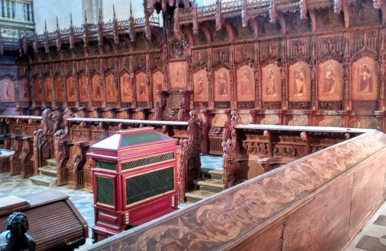 SIllería del Coro de la Catedral de Plasencia