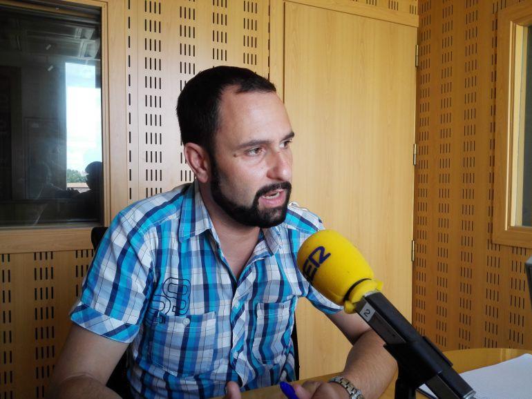 Jose Damián García, de Irabazi, en la entrevista en Hoy por Hoy Vitoria.