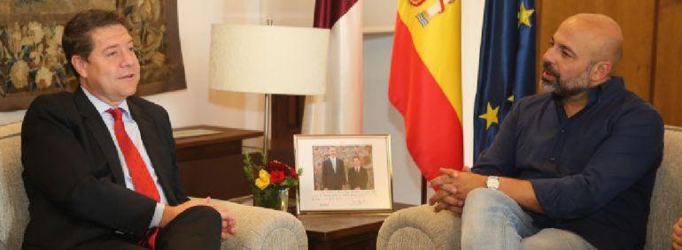 Emiliano García-Page y José García Molina, líderes regionales del PSOE y Podemos.