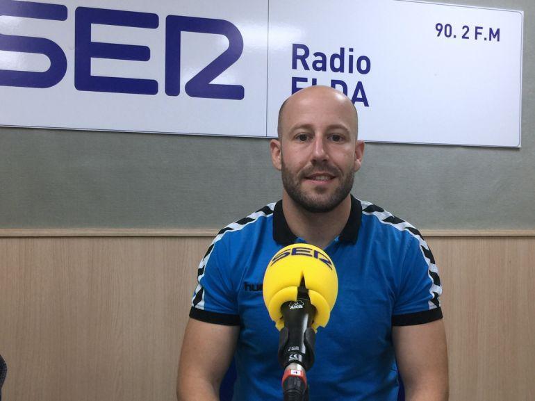Fran Piedecausa, entrenador del Elda Prestigio