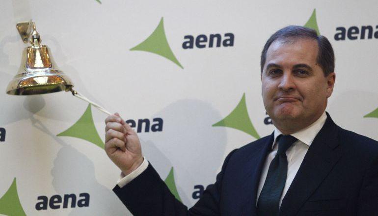 José Manuel Vargas, presidente de AENA, en una imagen de archivo