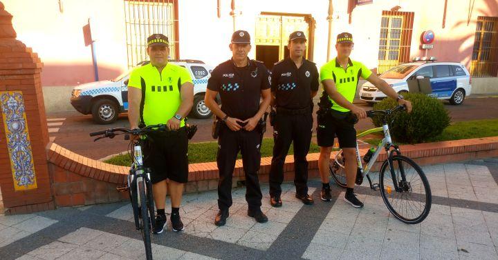 La unidad de bicicletas de apoyo a la movilidad de la for Oficina zona azul talavera