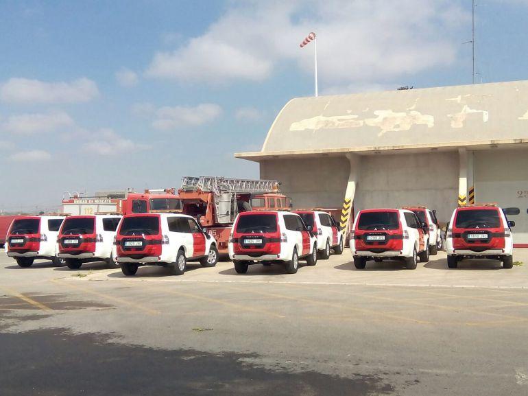 Nuevos vehículos destinados a Jefatura del Consorcio