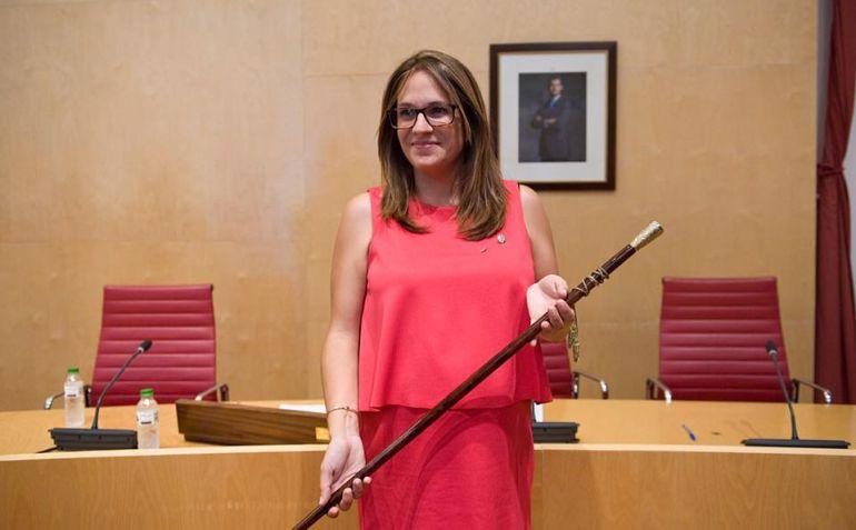 Susana Mora es presidenta socialista del Consell Insular de Menorca desde el mes de julio de 2017