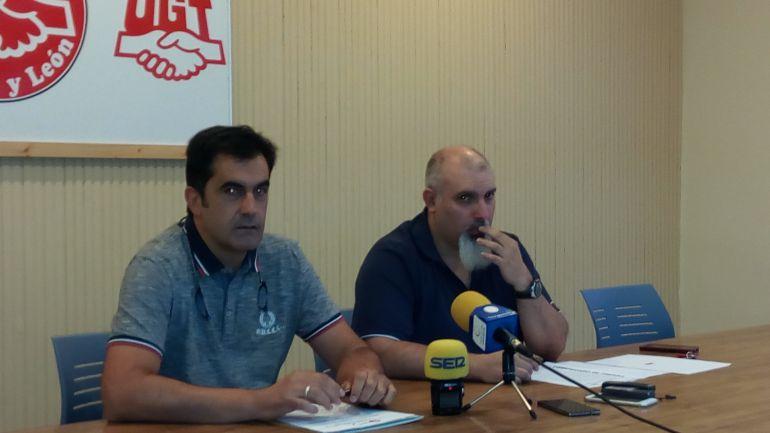 Javier Muriel y Modesto Rioseras
