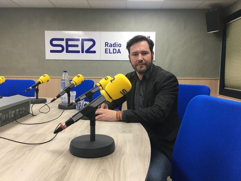 Francisco Muñoz, concejal portavoz del PP, en el programa Vinalopó Hoy por Hoy