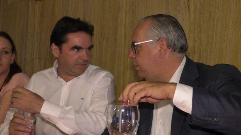 Miguel Moreno y Jesús Estrella en una imagen de archivo
