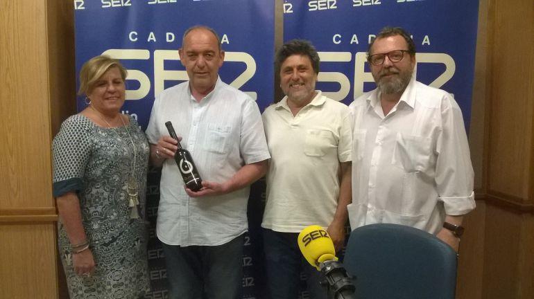 Manuela Fillero, Pedro Preciado, Juan Jiménez y Francisco Hidalgo