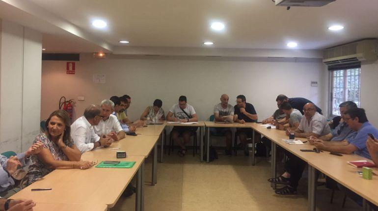Firma del preacuerdo para el convenio del metal en la provincia de Valencia