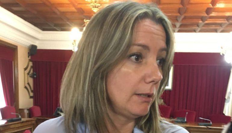 Lara Méndez, alcaldesa de Lugo, valorando la posible moción de censura que le podría presentar el PP