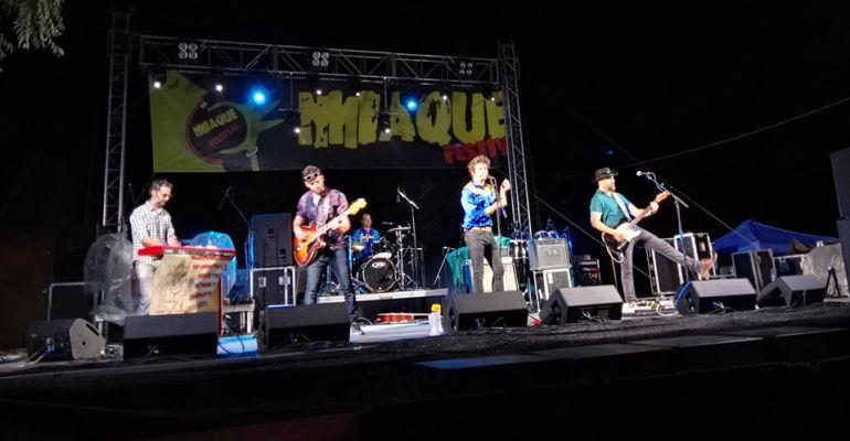 Una de las actuaciones del pasado MíaQué Festival de Porcuna