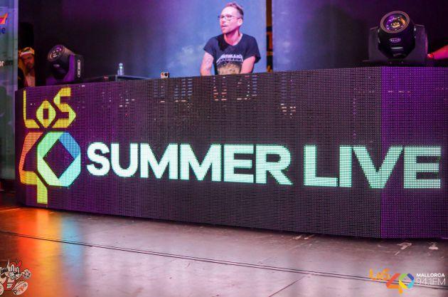 """""""La fiesta de una noche de verano"""" LOS 40 SUMMER LIVE Triunfan en Mallorca."""