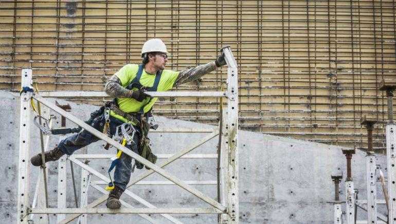 Suben los accidentes laborales en la construcción: Suben los accidentes laborales en la construcción en un 75%