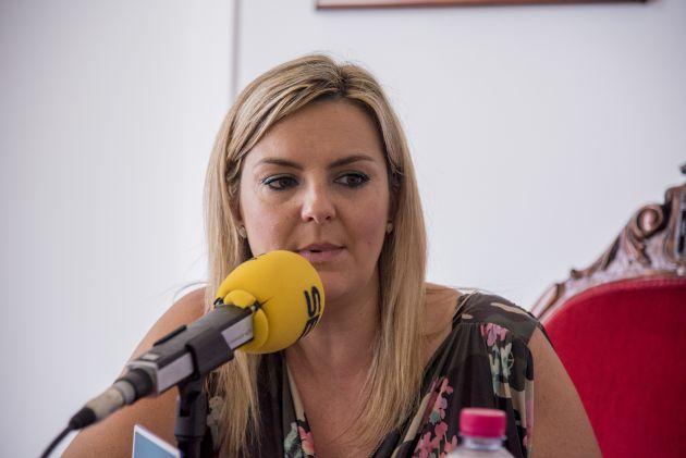 Lola Marín, alcaldesa de Baeza.