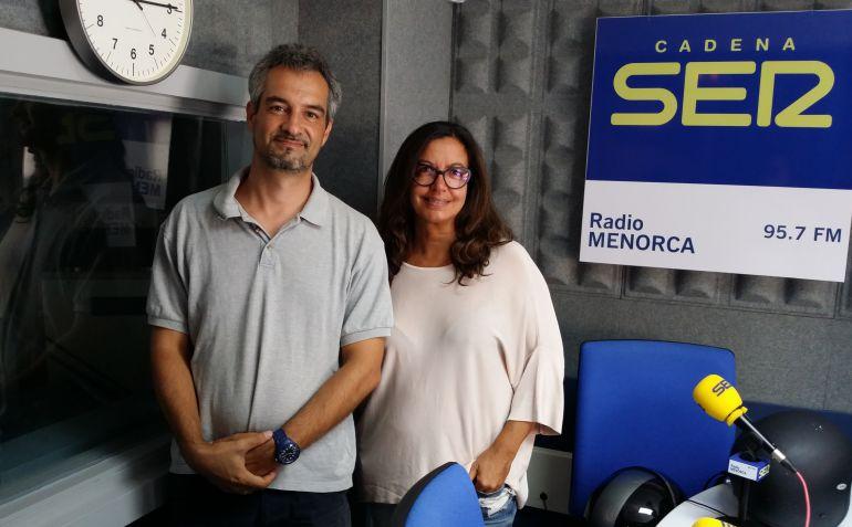 La conductora de Hora 25 se sometió a la Entrevista intrépida de Luis Soler para el Hoy por hoy Menorca