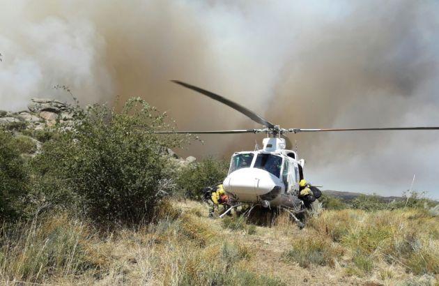 Noticias Ávila: Nivel 2 en el incendio en Gredos