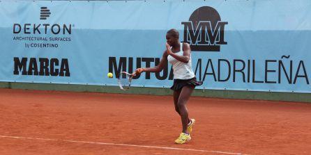 La Serena Williams española entrena en León