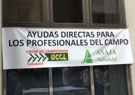 Imagen de una pancarta de la manifestación