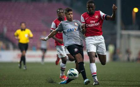 Ernest Ajammah, a prueba en el Conquense procedente del Arsenal